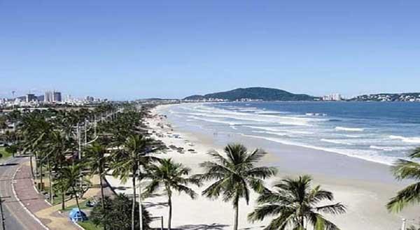 Camera ao vivo no Guarujá Praia da Enseada