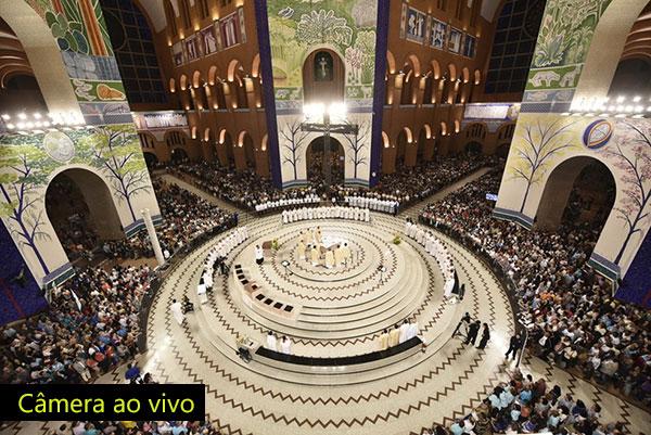 câmera-ao-vivo-Altar-central-santuário-de-nossa-senhora-de-aparecida