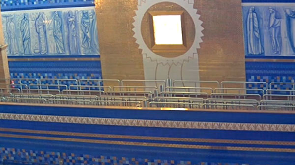 Câmera ao vivo do nicho do santuruário de Nossa Senhora de Aparecida