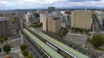 Estação Ferroviária Obihiro Hokkaido - Japão