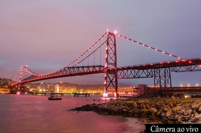 Câmera ao vivo Ponte Hercílio Luz