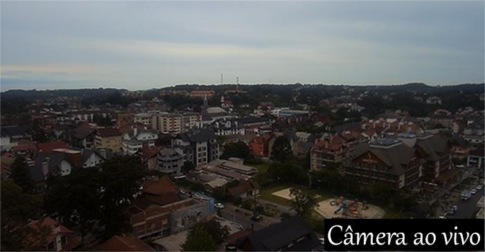 Câmera ao vivo panorâmica da cidade de Gramado-rs
