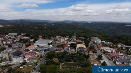 Câmera de segurança online e ai vuvi de Nova Petrópolis, Rio Grande do Sul.