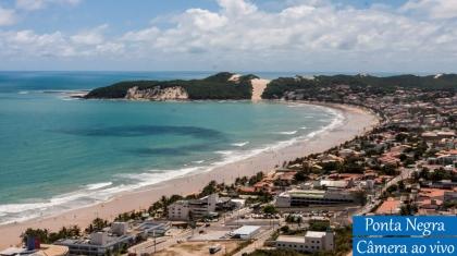 Câmera ao Vivo Ponta Negra em Natal Rio Grande do Norte