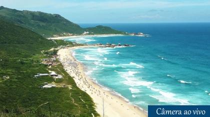 Câmera ao vivo Praia do Mole em Florianopolis