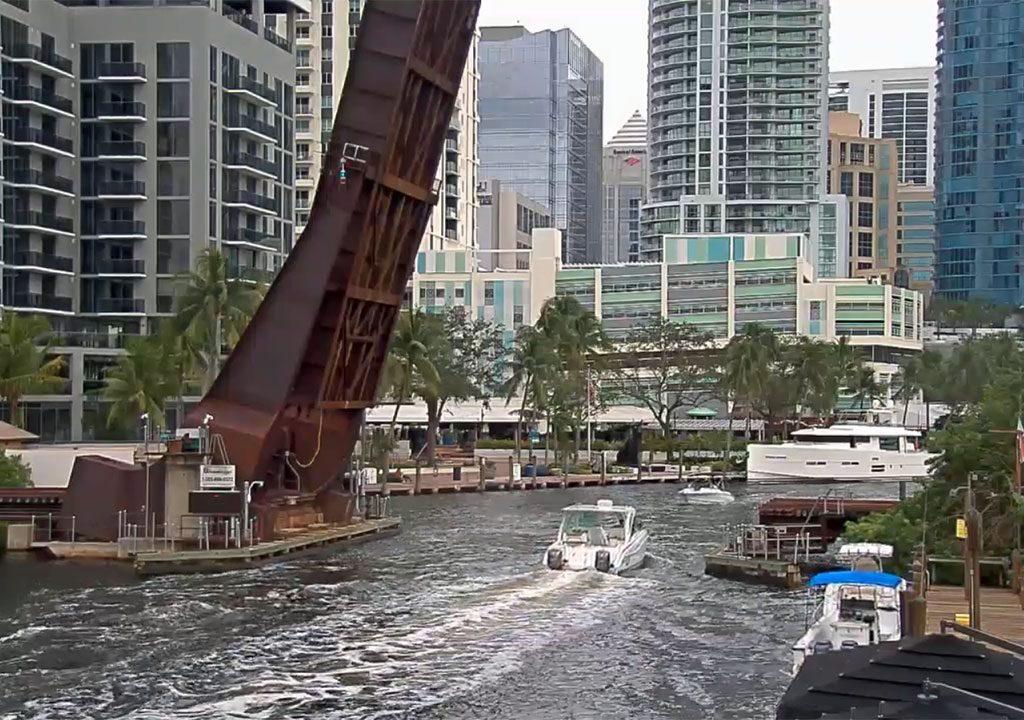 Web cam Fort Lauderdale: New River