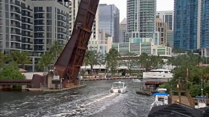 Web cam Fort Lauderdale: New River