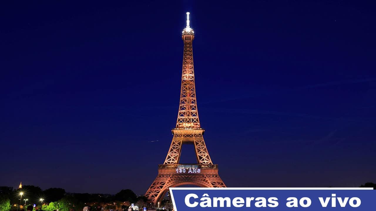 Câmeras ao vivo Torre Eiffel