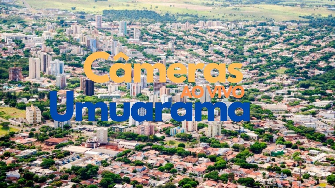 Câmeras ao vivo Umuarama
