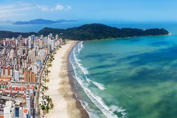 Foto panorâmica de Praia Grande