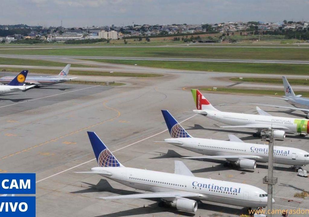 Aeroporto de Guarulhos ao Vivo