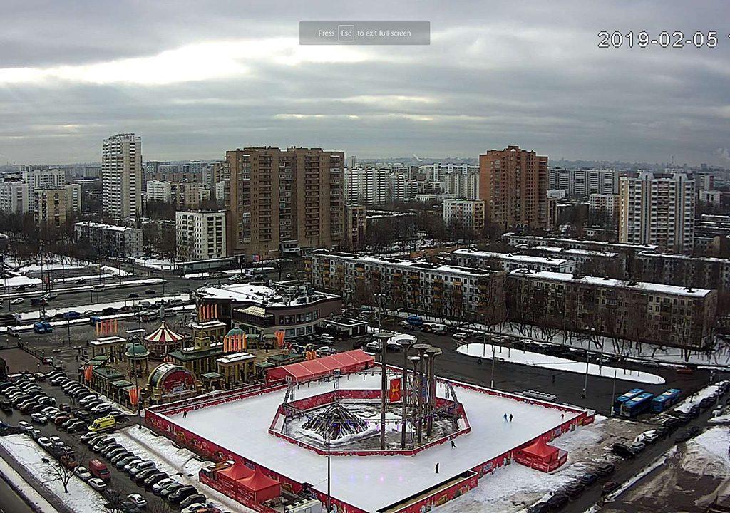 Live Cam Glory Square, Kuzminki, Moscou