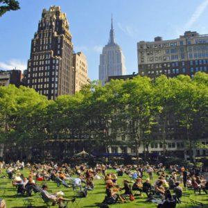 Nova York: Bryant Park Webcam