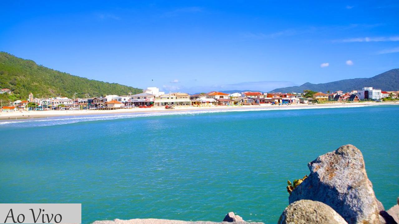 Câmera ao vivo Barra da Lagoa Florianópolis